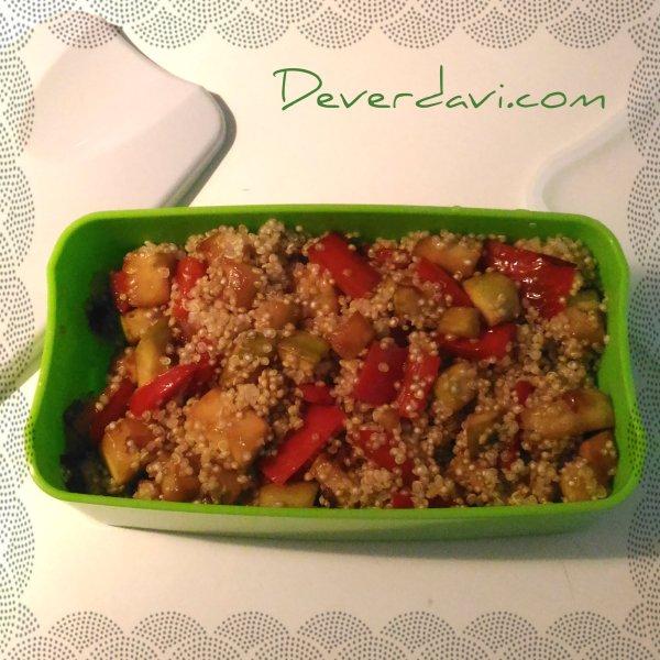 Quinoa con verduras - © Deverdavi.com