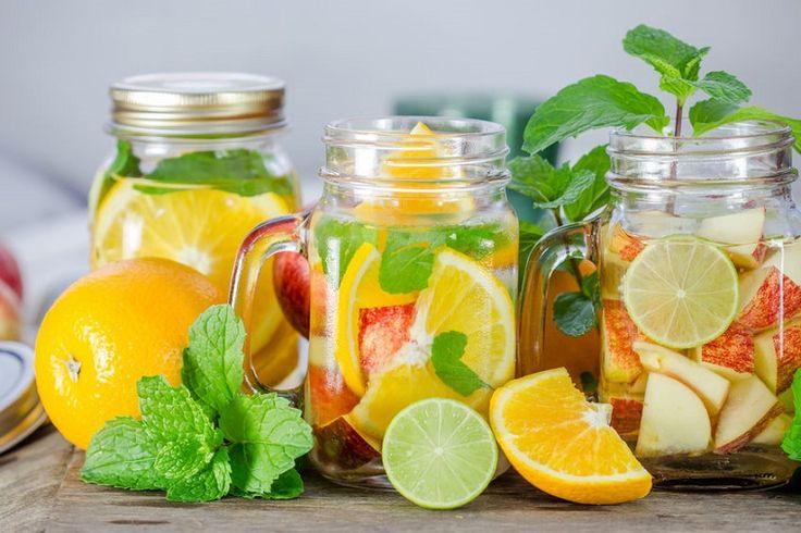 Aguas con sabor - Foto: Pinterest.com
